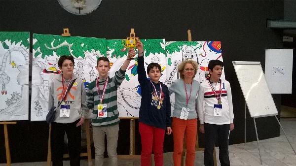 2015 - Ομάδα Ρομποτικής ΜΣΘ στο διαγωνισμό First Lego League Greece